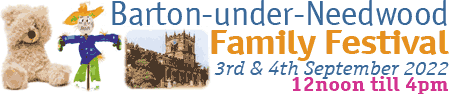 Barton under Needwood Family Festival Logo